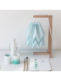 Table Lamp Plain Mint Blue