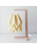 Table Lamp Plain Pale Yellow