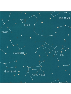 Papel Constellations Blue