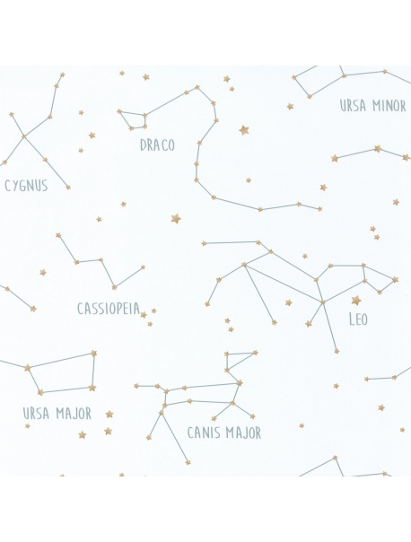 Papel Constellations White