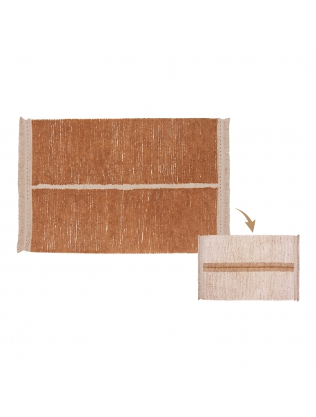Tapete Reversible Duetto Toffee